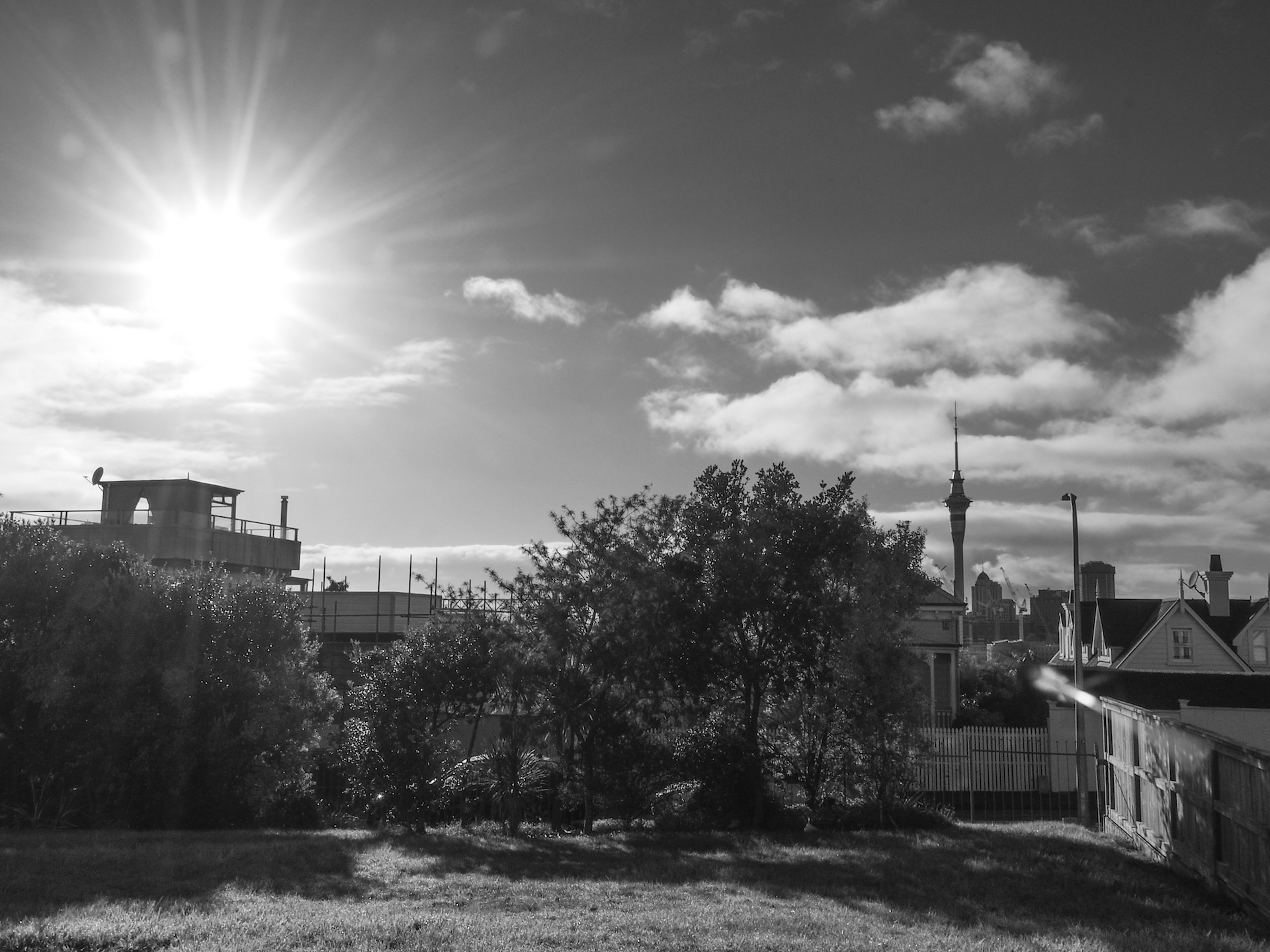 Sunrise in Ponsonby Street Photography Auckland
