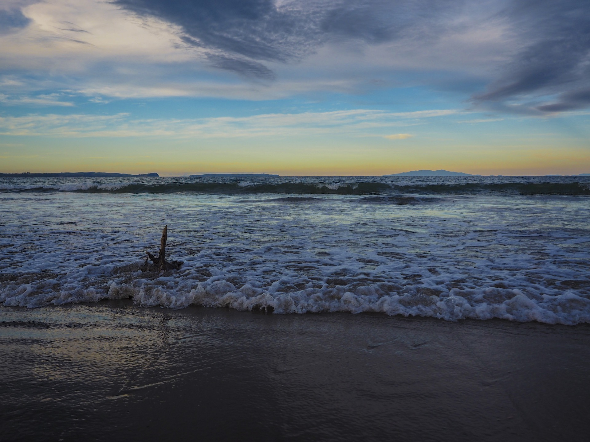 Longbay Beach Sunset - Landscape Photography Auckland