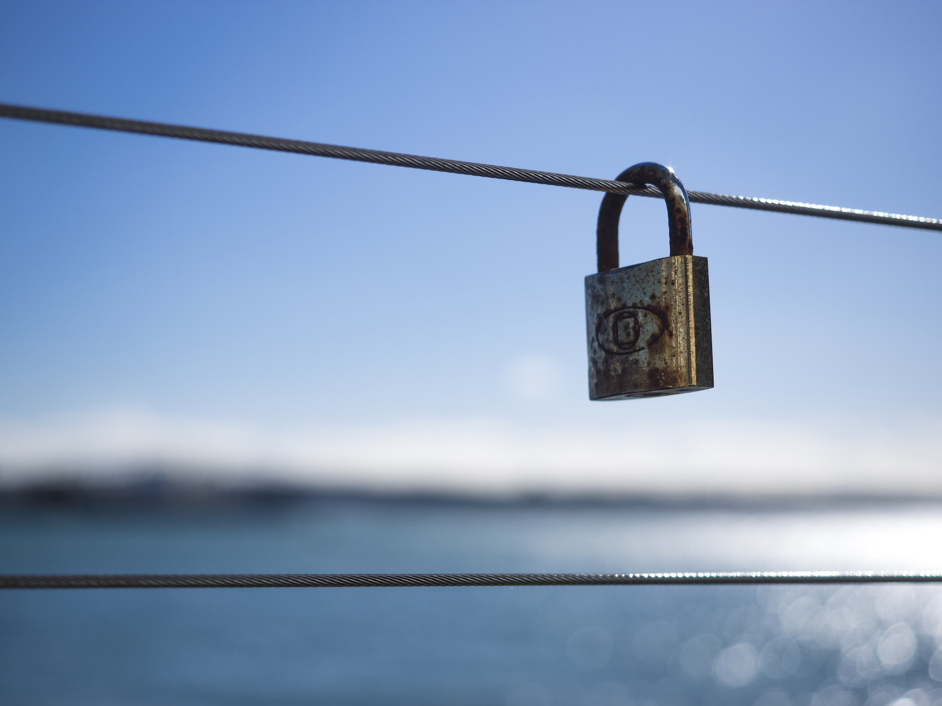 Love Lock in Auckland at Silo Marina - Street Photography Auckland